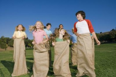 Have a potato sack race at a carnival-themed party.