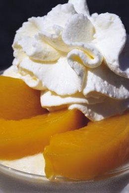 Whipped cream flavored with vanilla is referred to as Chantilly cream.