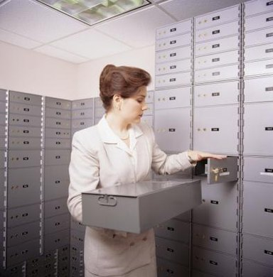 Safe deposit boxes are among the most secure places to store valuables.