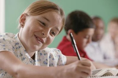 Having systematic strategies can help fifth graders feel more confident when writing papers.