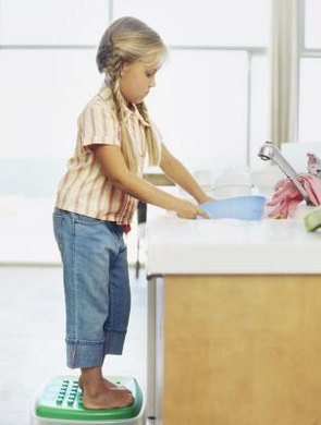 Assign children age-appropriate chores.