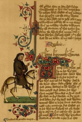 "Chaucer's ""Canterbury Tales"" is written entirely in heroic couplets."