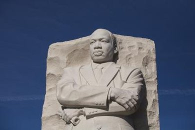 Martin Luther King Jr.'s organizing in the civil rights movement was the result of a series of events.