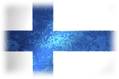 Finland's flag. All of Finland's universities are tuition free.