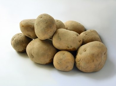 Potatoes can be used in many school projects because they have a long life span.