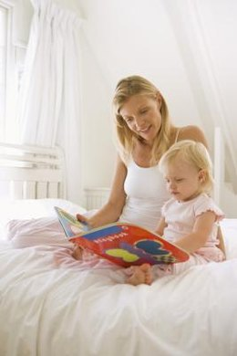 Reading provides bonding time at an early age.