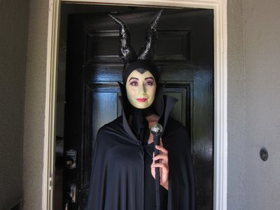 Maleficent Costume Finished