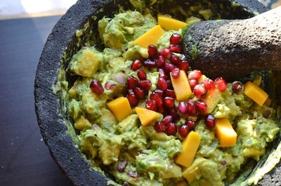Pomegranate guacamole? Don't mind if we do!