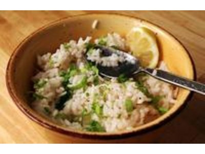 Fresh cilantro is a key ingredient in Chipotle's rice recipe.