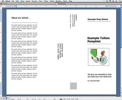 How to Make Tuition Pamphlets in Microsoft Word | eHow