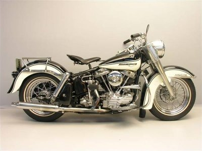 The 1961 Harley-Davidson Duo Glide.