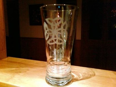 Glass etched