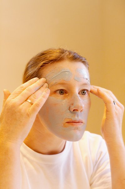 Save money with a homemade facial mask.