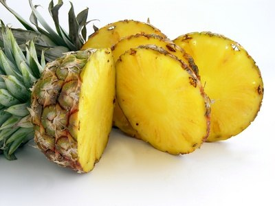 Pineapple contains bromelain, an enzyme that breaks down fat.