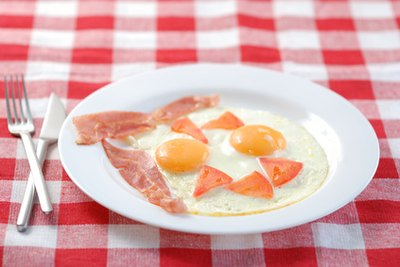 Eggs and low-fat Canadian bacon can give you an important protein boost.