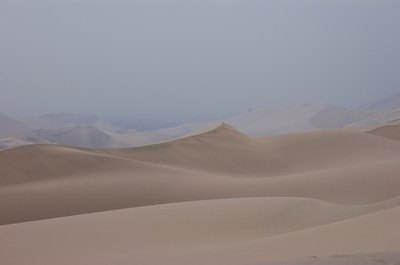 Deserts are characterized by their extreme weather.