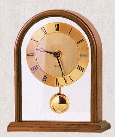 Pendulum clocks make use of the pendulum's swaying motion to keep accurate time.