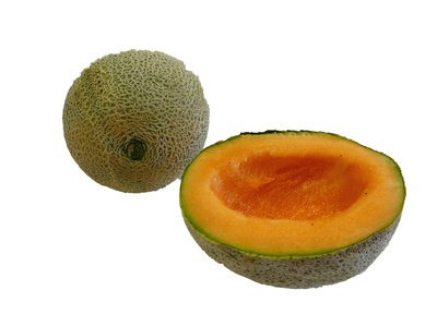High in fiber and vitamin C, cantaloupe is a good breakfast fruit.