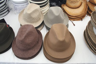 Adult males wore hats.