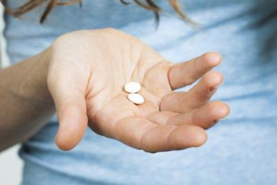 Aspirin helps with blood flow problems.