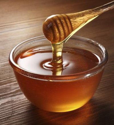 Honey is the only sweetener permitted.