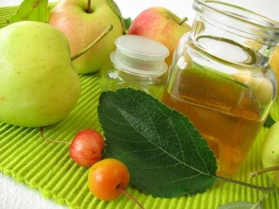 Apple cider vinegar can be purchased rather cheaply.