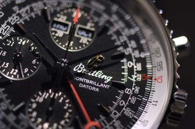Breitling watch, close-up