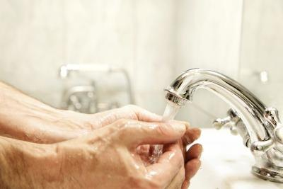 Washing hands often is key to avoiding staph infection as it can easily spread through direct contact.
