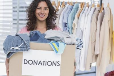Get reciepts from charitable organizations.