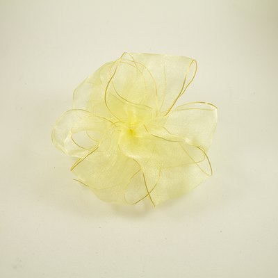 Organza bows are elegant additions to any gift.