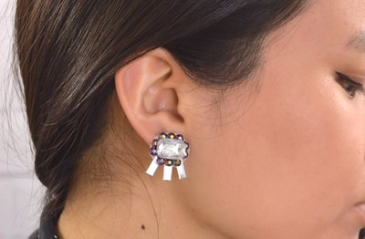 Use different types of gems and wire for one-of-a-kind combinations.