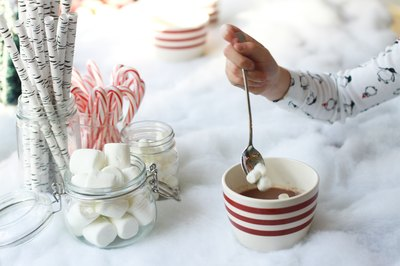 Hot cocoa without marshmallows? Never!