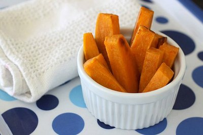 Sweet potatoes are full of iron and vitamin D, both of which pediatricians often recommend as supplements.