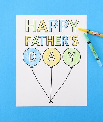 This card is the perfect Father's Day keepsake for dad.