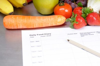 Tracking your food in a journal can help you lose weight.