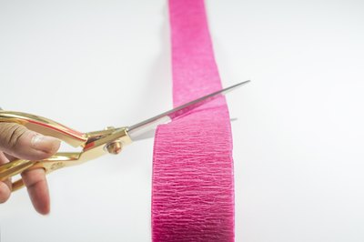 Cut streamer to desired length