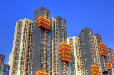 Apartment buildings are a prime source of outside capital for business owners.