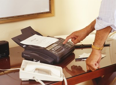 Fax is a fast way to send written communication, but it can be inappropriate for lengthy documents.