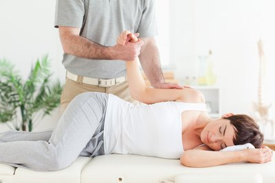 Physical therapists are trained in recovery and pain reduction.