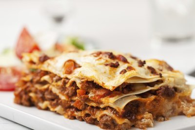 soft lasagna is another option