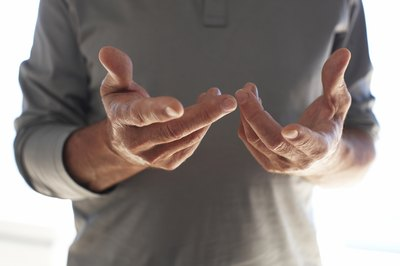 Tingling in your fingers may be a sign of low blood calcium.