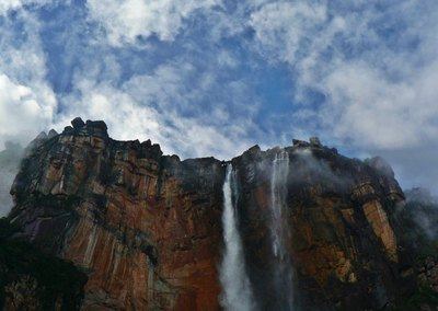 Angel Falls is the world's highest waterfall