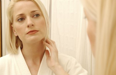 Acne-like skin lesions may occur
