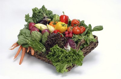 Fruits and vegetables are ideal as part of a balanced diet.