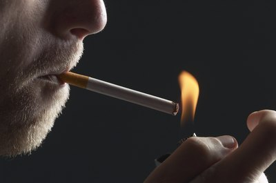 Smoking increases the chances of a fire occurring around the oxygen tank