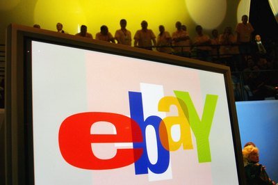 eBay logo at event