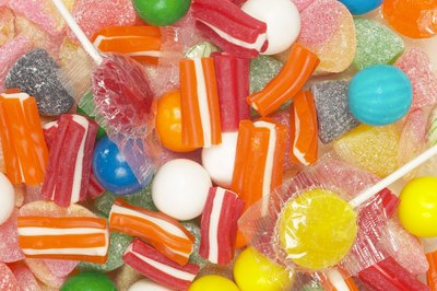 pile of sugar candy