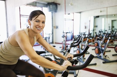 Incorporate an exercise regimen into your life that includes both cardio and strength-training activities.