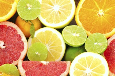 Citrus fruit is a good source of vitamin C.