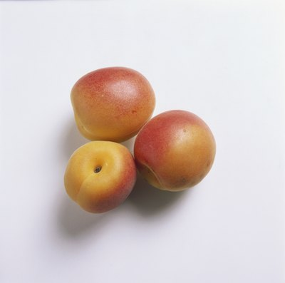 Apricots are high in potassium.